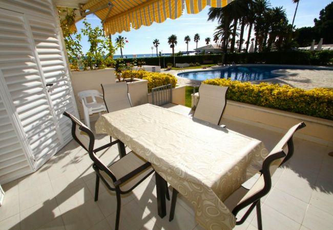 Appartement à Miami Playa - FLAM115 Bajo 1ª línea, piscina, Wifi gratis