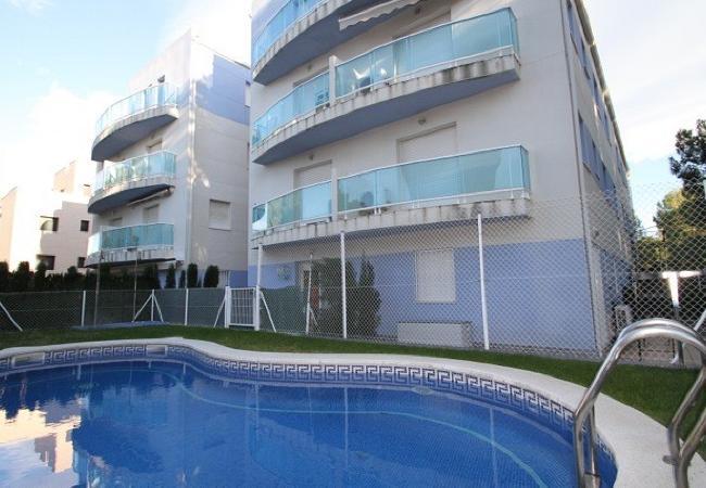 Appartement à Miami Playa - JULIETA Apartamento 2ª línea, piscina, Wifi gratis