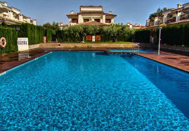 Maison à Miami Playa - ESTADA Adosado con jardín, piscina y BBQ