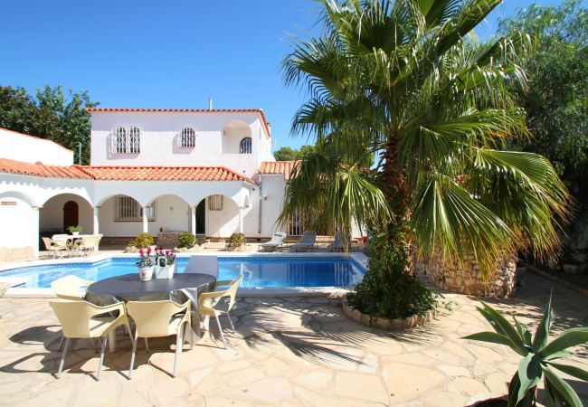 Villa à Miami Playa - B34 VIENA gran villa con piscina privada