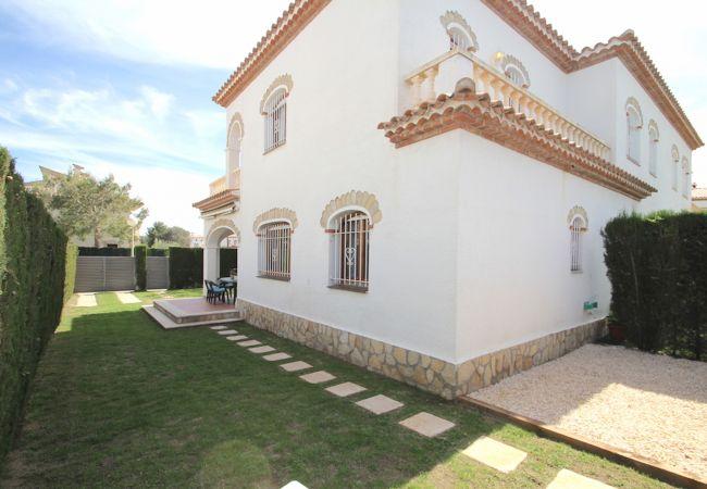 Maison mitoyenne à Miami Playa - BOSQUE24 adosado jardín privado y piscina