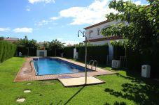Maison mitoyenne à Miami Playa - MAGRA8 Adosado jardín privado, BBQ y piscina comun