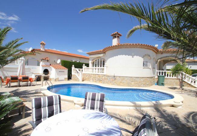 Villa à Miami Playa - B37 ZAFIRO villa con piscina privada y jardín