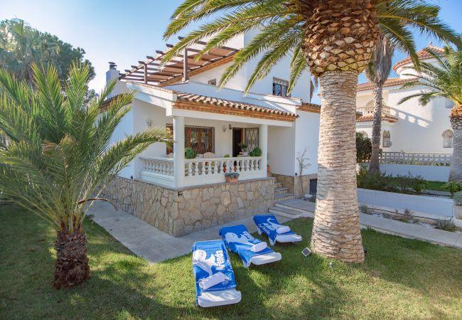 villa à Miami Playa - FIGUERA villa 4 dormitorios jardín WiFi gratis