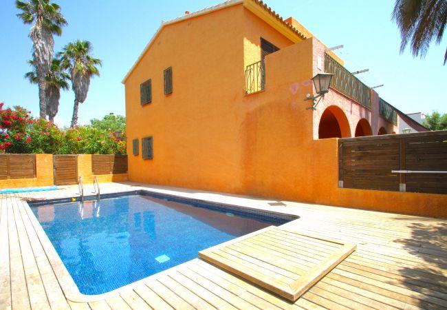 Maison à Mont-roig Bahia - C42 TERRACOTA adosado con jardín privado y piscina