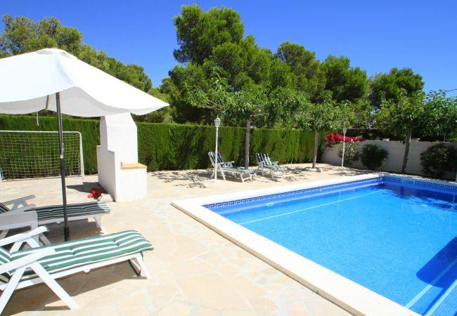Villa à Miami Playa - B24 ANGELES villa con piscina privada y jardín