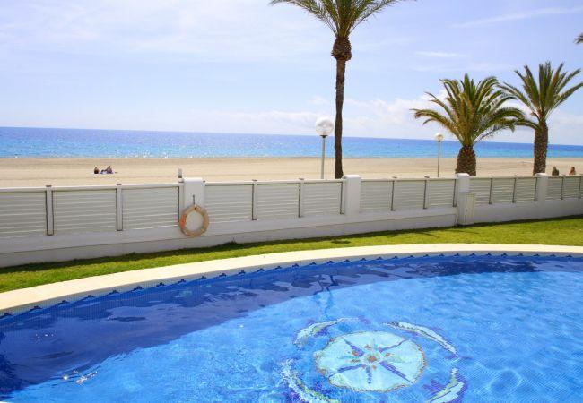 Maison mitoyenne à Miami Playa - LIMA adosado primera línea, bbq y piscina comun