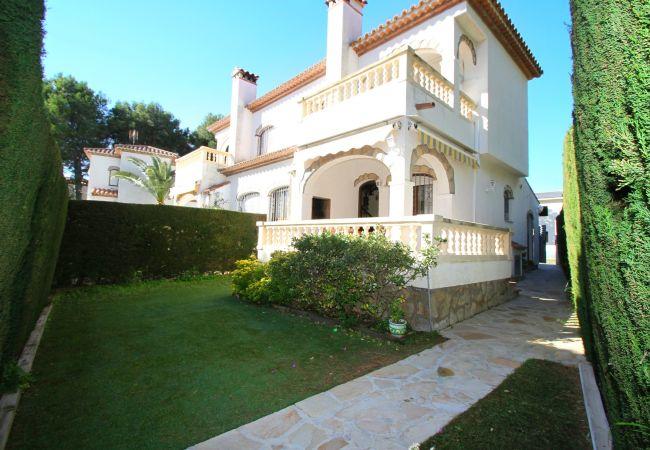 Maison à Miami Playa - RIOJA adosado con jardín, barbacoa y piscina