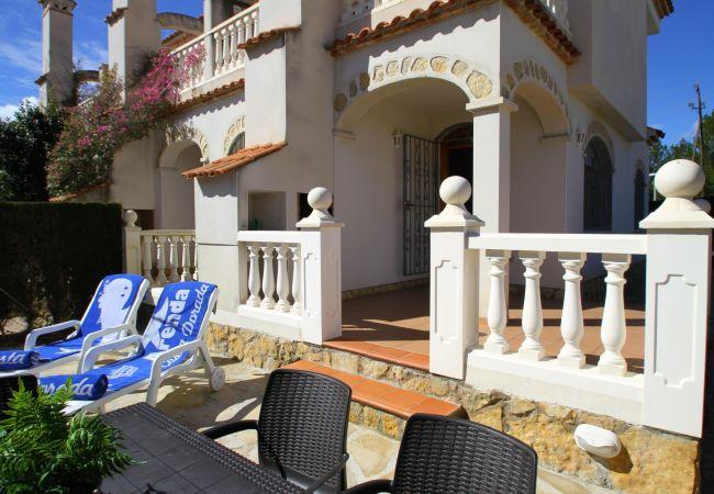 Maison à Miami Playa - C56 CALA BEACH2 Adosado con jardín, piscina y Wifi