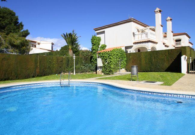 Maison à Miami Playa - CALA BEACH1 Adosado jardín, piscina, Wifi gratis