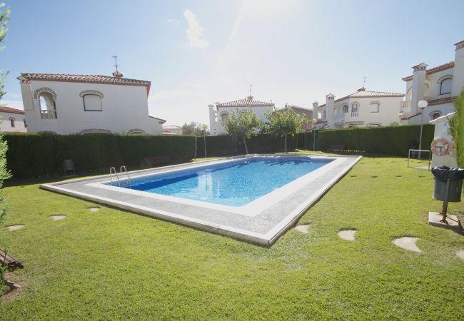 Maison à Miami Playa - C57 MASIA3 Adosado con jardín privado y piscina