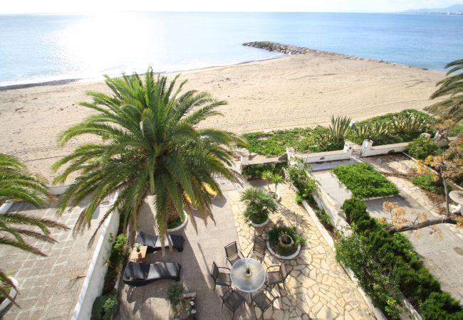 Maison mitoyenne à Miami Playa - ANCORA Adosado 1ª línea de playa, BBQ, Wifi gratis