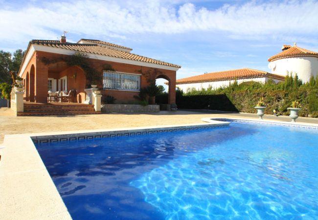 Villa à Miami Playa - GLADYS Gran villa piscina privada BBQ Wifi gratis