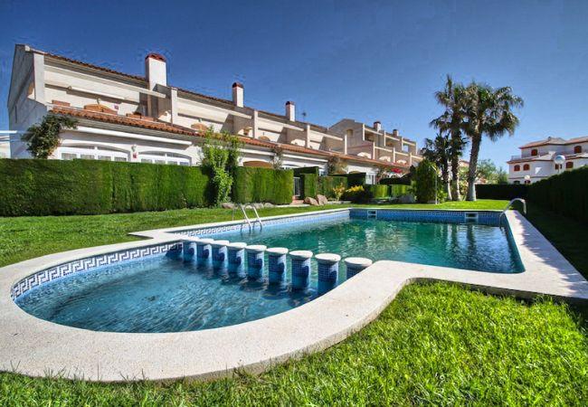 House in Hospitalet de L´Infant - C20 TOLU adosado, frente al mar, jardín privado