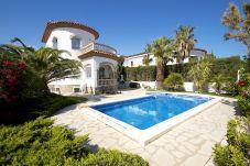 Вилла на Миами Плайя - BLANCA Villa jardin, piscina privada y Wifi gratis