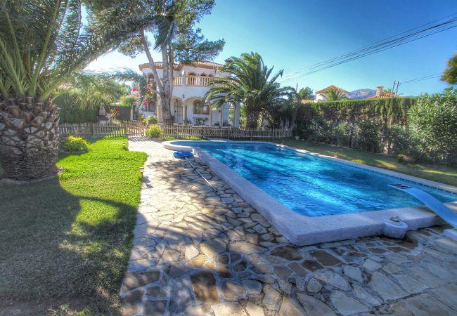 Вилла на Miami Playa - CALIFORNIA Villa con piscina, jardín y Wifi gratis