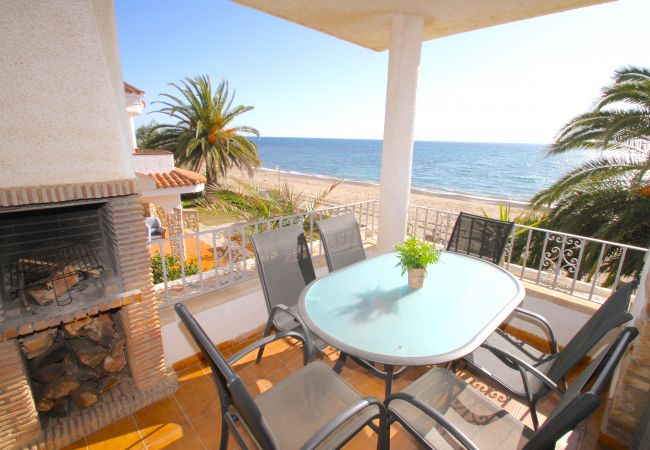 Апартаменты на Miami Playa - BAHIA 1ª línea de playa, BBQ, Wifi gratis