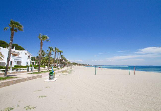 Дом на Miami Playa - CASABLANCA 1ª línea mar con BBQ y Wifi