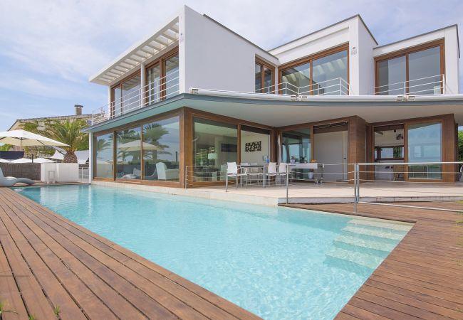 Вилла на Miami Playa - DANNA Villa Lux 1ª línea, piscina y Wifi gratis