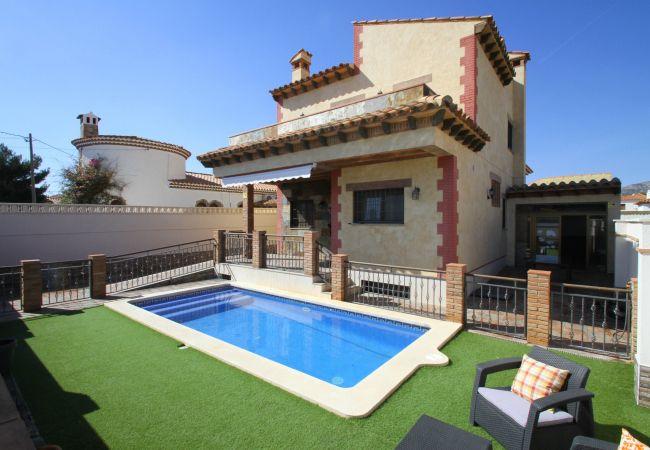 Вилла на Miami Playa - ISA Villa piscina privada, BBQ y Wifi gratis