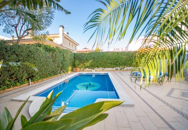 Вилла на Cambrils - CONDESA Gran villa piscina privada y WiFi gratis